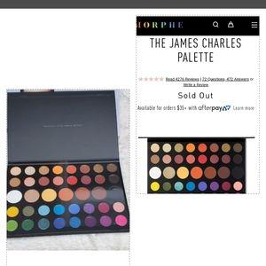 Morphe James Charles palette NWT